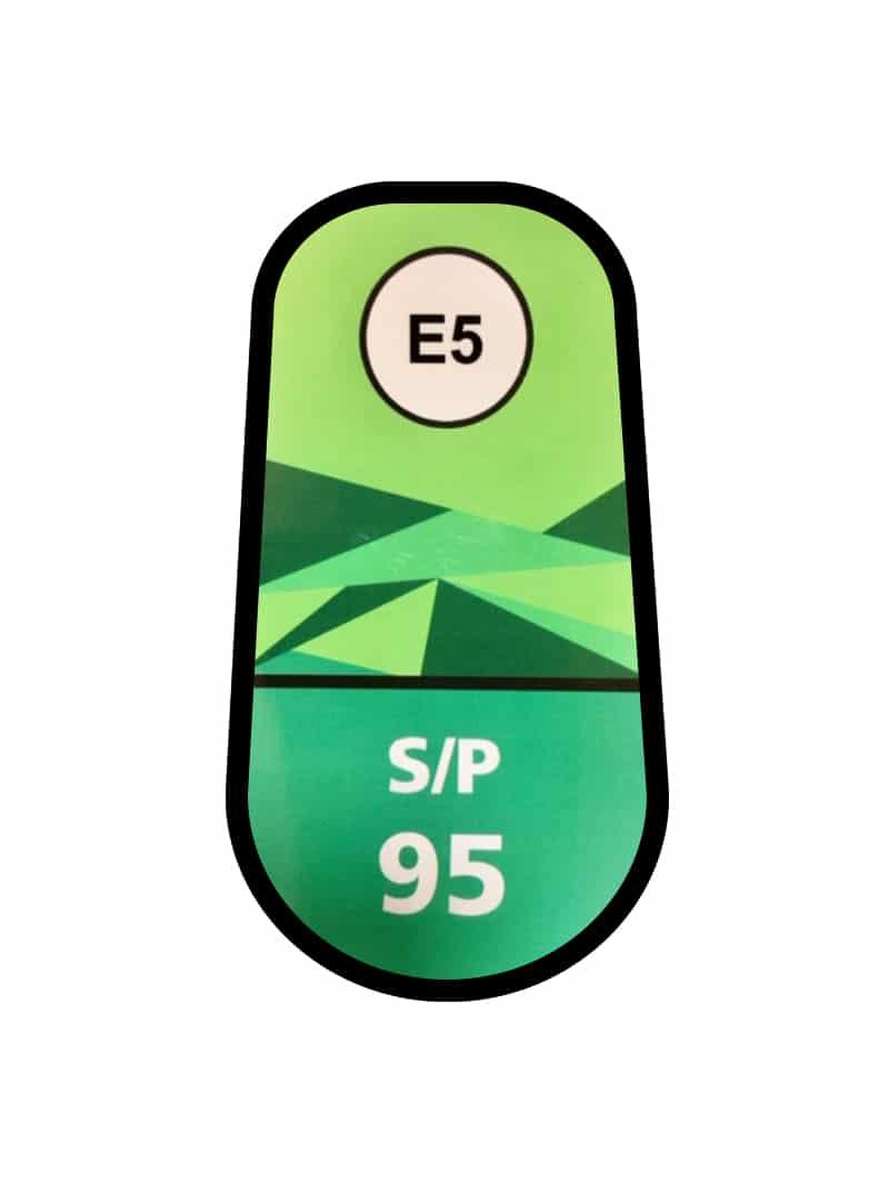 Sin plomo95 / E5